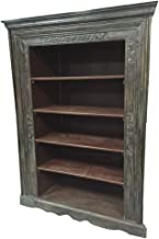 antique indian bookcase