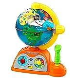 VTech - Globo multiaventuras, infantil interactivo que enseña geografía, continentes, océanos y monumentos, idiomas, animales y música (80-197822) , color/modelo surtido