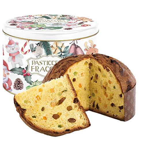 Panettone Artigianale Antico di Fraccaro Spumadoro, dolce natalizio Made in Italy – 1000 gr.