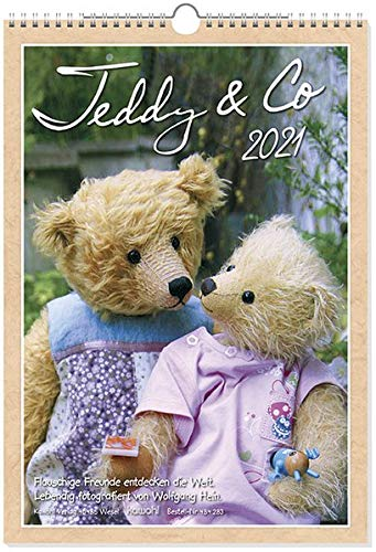 Teddy & Co 2021: Flauschige Freunde und kuschelige Kameraden entdecken die Welt.