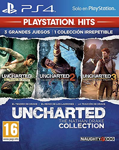 Uncharted Collection Hits - PlayStation 4 [Edizione: Spagna]
