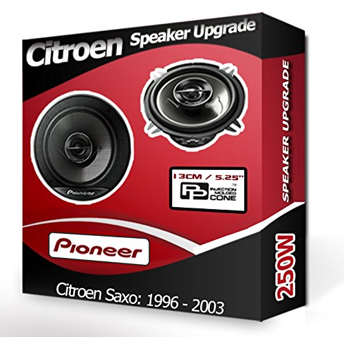 Pioneer Kit haut-parleurs de portes avants pour Citroën Saxo 13 cm 210 W