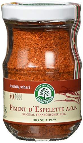 Lebensbaum Piment D`Espelette A.O.P. - Original Französischer Chilli, 50 g