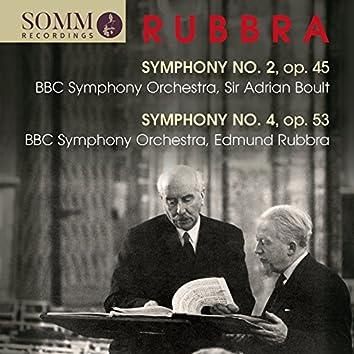 Rubbra: Symphonies Nos. 2 & 4