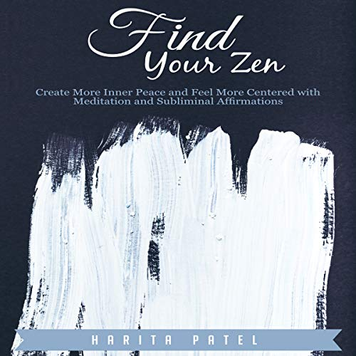 Find Your Zen audiobook cover art
