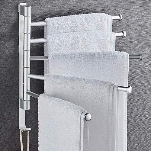 Toallero Calentador de toallas Montado en la pared Toallero...