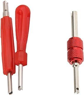 KESOTO 3 Pcs. Universal Ventilausdreher Ventilschrauber Ventileindreher für Autoreifen Schrauben