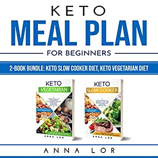Keto Meal Plan for Beginners  audiobook cover art