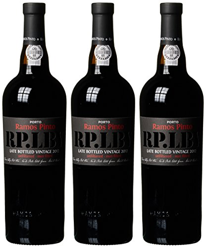Ramos Pinto Late Bottled Vintage 2011/2012 (3 x 0.75 l)