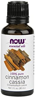 NOW Cinnamon Cassia Oil, 1-Ounce (Pack of 2)
