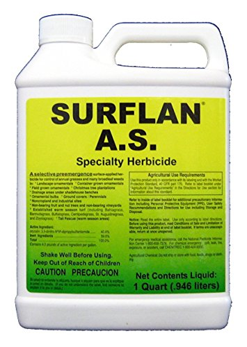 Southern Ag - 12401 - Surflan A.S. - Pre-Emergent Herbicide, 32oz, Bright Orange (9722602)