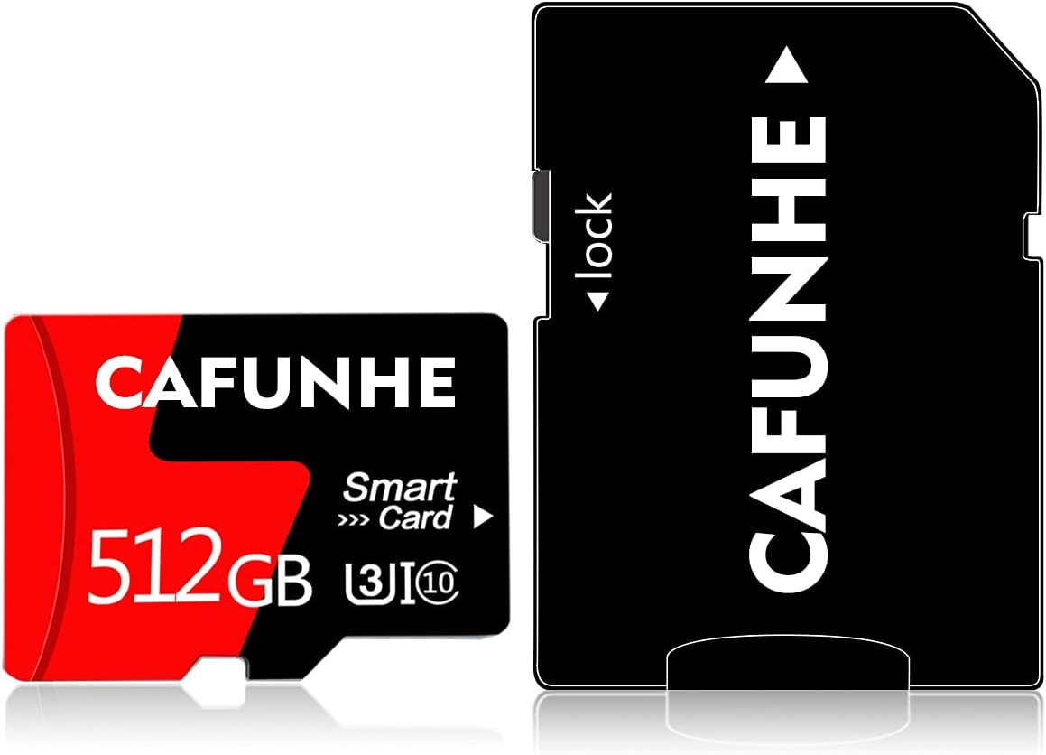Micro SD Card 512GB Memory Card,TF Card 512GB High Speed with A Free SD Card Adapter for Smartphones,Camera