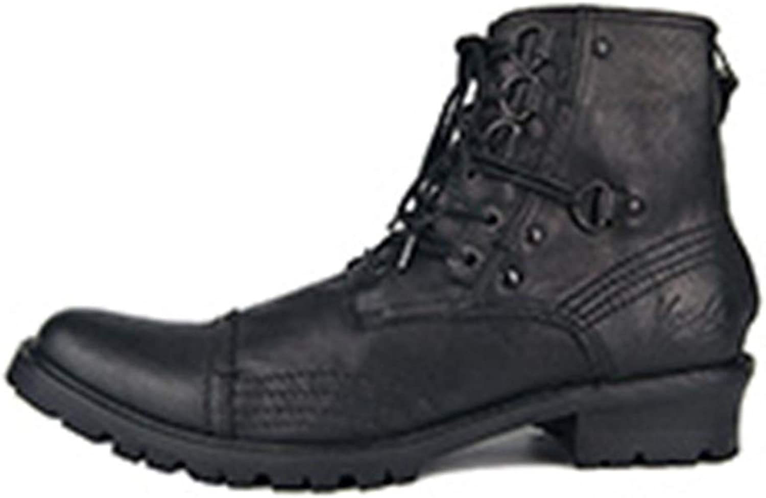 Men's Military Boot Genuine Leather Boots Ankle Martin Chelsea Boot Designer Leather shoes Footwear