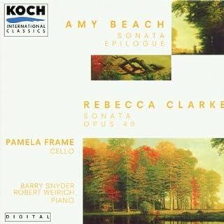 Sonata for Cello & Piano by Rebecca Clarke