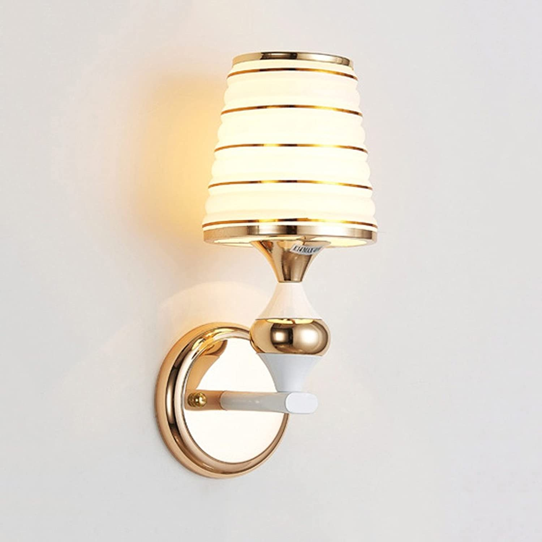 Europische Stil Glas Wand Lampe Nachttisch Wohnzimmer Schlafzimmer Gang Korridor Wandleuchte
