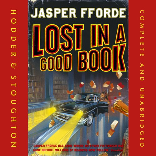 Lost in a Good Book audiobook cover art
