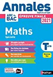 Annales BAC 2021 Maths Terminale
