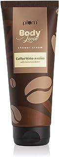 Plum Bodylovin' Coffee Wake-A-Ccino Shower Cream (Body Wash), Deep Moisturization, All Skin Types Esp Dry, Sulphate Free, ...