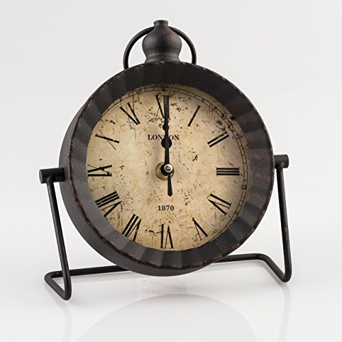 Pajoma staande klok, zwart