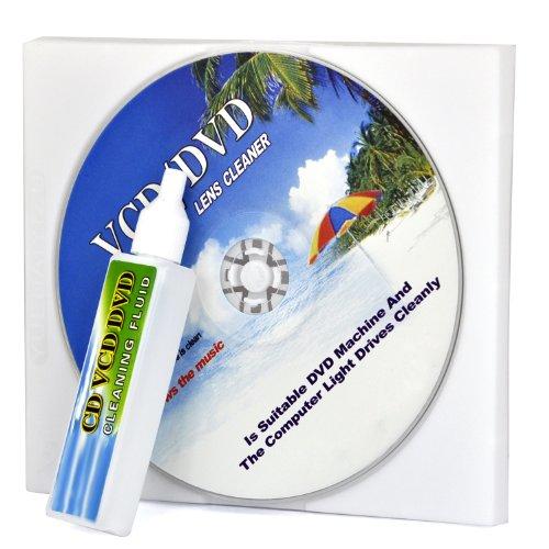 TRIXES Pulitore rimuovi sporco testina laser lenti lettore DVD