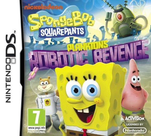 Spongebob Squarepants: Plankton's Robotic Revenge (Nintendo DS) [Edizione: Regno Unito]