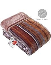 昭和西川 暖かな肌触りなめらか毛布