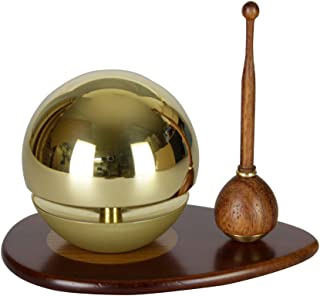Buddhist Bell ORIN Tamayurarin Black Plate From Japan New