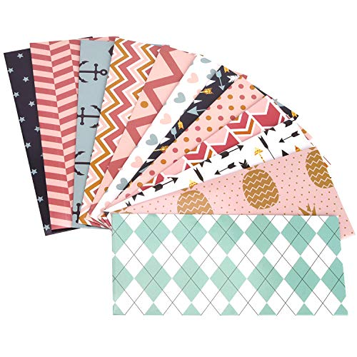 SUKKI Cash Envelope System, 12 PC Waterproof Budget Envelopes for Saving Money, Cash Budget Envelopes with Budget Sheets