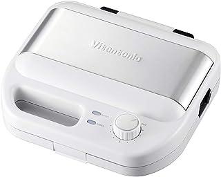 Vitantonio ワッフル&ホットサンドベーカー [ホワイト] VWH-500 焼き型2種付き