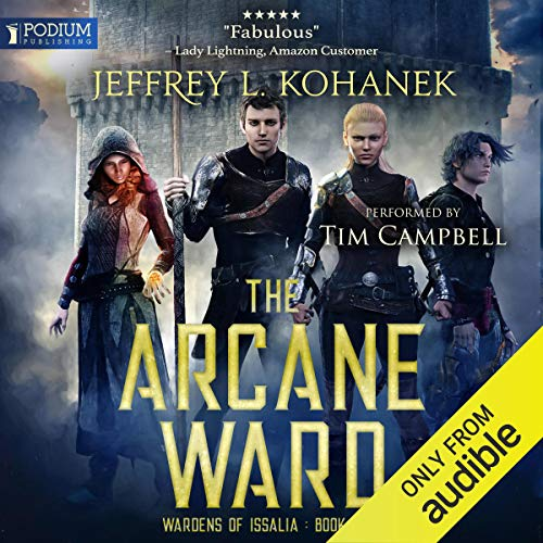 The Arcane Ward  By  cover art