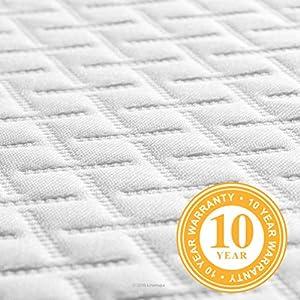 Linenspa 5 Inch Gel Memory Foam Mattress - Firm Support - Queen
