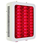 SUPERDSRED 180W Red Light Therapy Device,660&850nm Near Infrared Led Light Therapy Lamp, 60 LEDs, Clinical Grade Home Use Light Therapy Lamp for Anti-Aging, Pain Relief