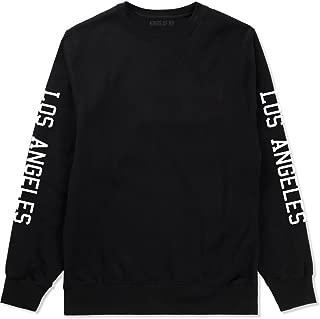 Kings Of NY Los Angeles California LA City Printed Sleeves Crewneck Sweatshirt
