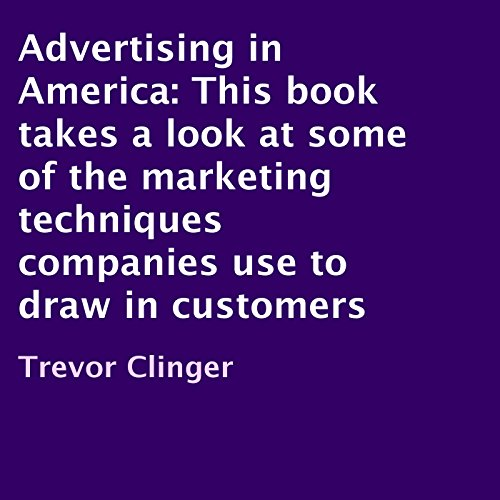 Advertising in America audiobook cover art