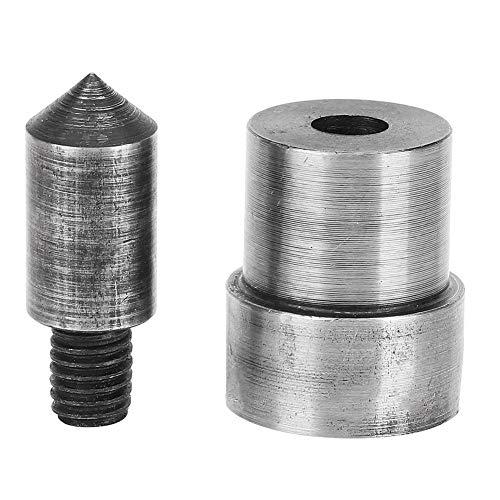 2 uds y máquina perforadora de presión, herramienta de metal resistente, molde de ojal HSpring, sujetador a presión, troquel de botón para presionar a mano(3.0 mm)