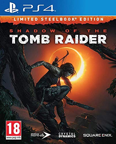 Third Party - Shadow Of The Tomb Raider - Steelbook Edition Occasion [ PS4 ] - 5021290081475
