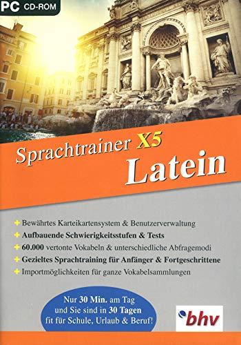 Lernen & Co - Sprachtrainer X5 Latein. Für Windows 8.1/8, 7, Vista, XP (SP2 oder höher)