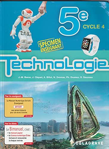 Technologie 5e (2017) - Spécimen (2017)