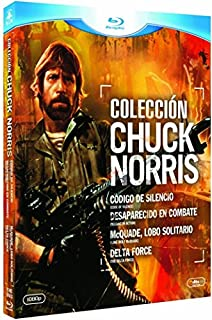 Coleccion Chuck Norris (Codigo De Silencio+Desaparecido En Combate+Mcquade, Lobo Solitario+Delta Force) - Blu-Ray [Blu-ray] (B0088YOTF2) | Amazon price tracker / tracking, Amazon price history charts, Amazon price watches, Amazon price drop alerts
