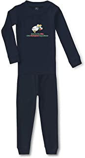 Made in The USA with Portuguese Ingredients Sleepwear Pajama 2 Pcs Set