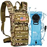NOOLA Hydration Backpack with 3L TPU Water Bladder, Tactical Molle Water Backpack for Men Women,...
