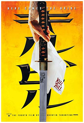 Kill Bill Vol 1 Movie Poster 24 x 36 Inches Full Sized Print - Frame Ready Portrait Print Fan Art Version A