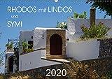 Rhodos mit Lindos und Symi (Wandkalender 2020 DIN A2 quer): Sehenswürdigkeiten der griechischen Inseln Rhodos und Symi (Monatskalender, 14 Seiten ) (CALVENDO Orte)