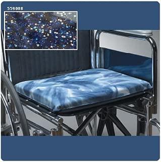 Skil-Care Sitting Pretty Gel-Foam Wheelchair Cushion, Starry Nite, 16