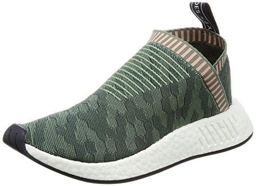 adidas Damen NMD_Cs2 Pk W Fitnessschuhe, Vertra grün Vertra Rostra, 37 1/3 EU