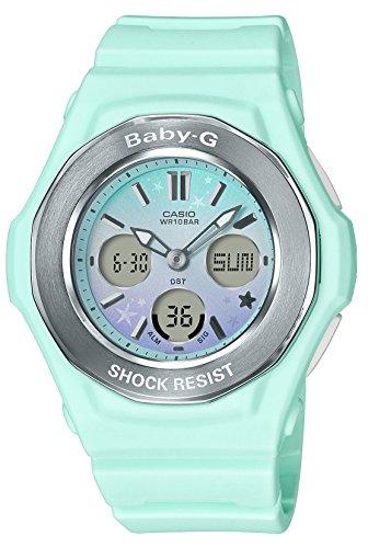 [カシオ] 腕時計 ベビージー スターリースカイシリーズ BGA-100ST-3AJF レディース グリーン