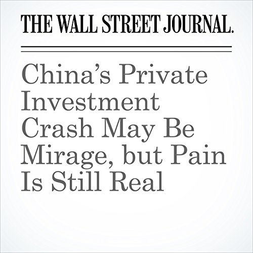 China's Private Investment Crash May Be Mirage, but Pain Is Still Real audiobook cover art