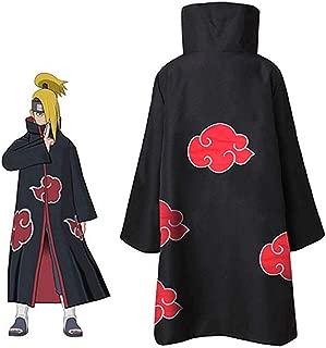 GGOODD Hokage Akatsuki Capa con Cremallera Disfraz de Anime ...