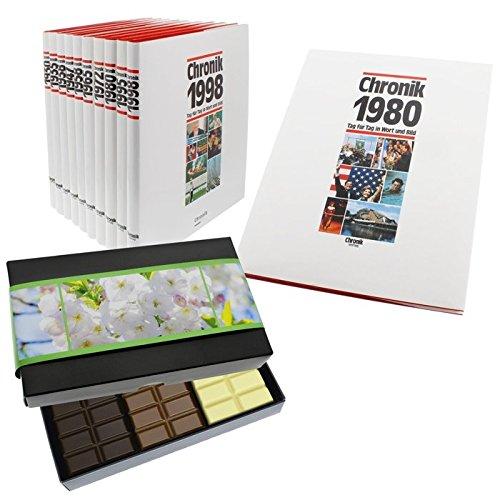 Schokochronik 1940: Chronik 1940 + XL Schokolade