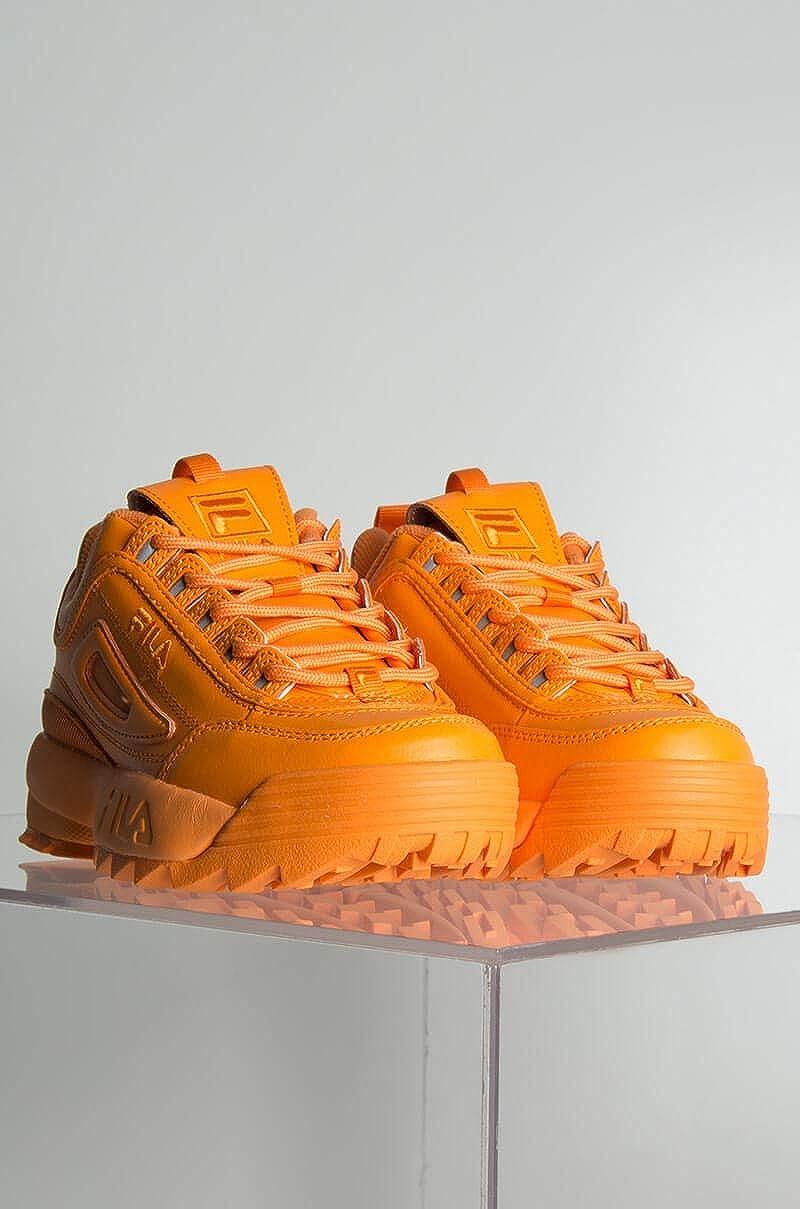 amazon fila disruptor Naranja
